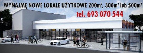 wyróżnione ogłoszenie Lokal / 300 m2 / Kutno